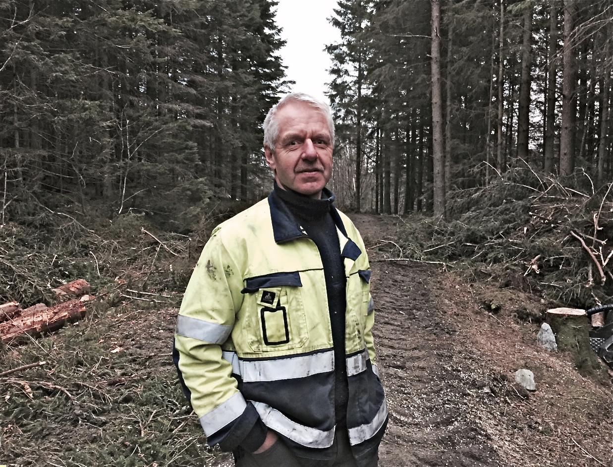 Iver Blokum er skogbruksleiar i Sunnhordland.