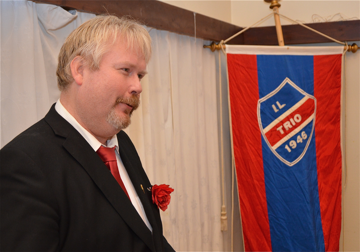 Dagens leiar i Trio, Arne Torget.