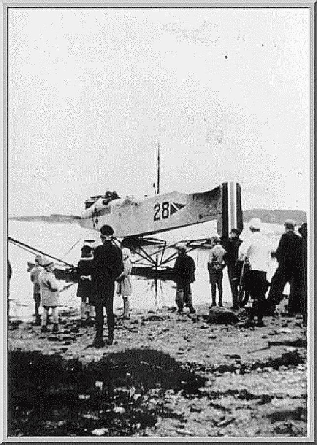 Sjøfly i Uskedalen i 1931.