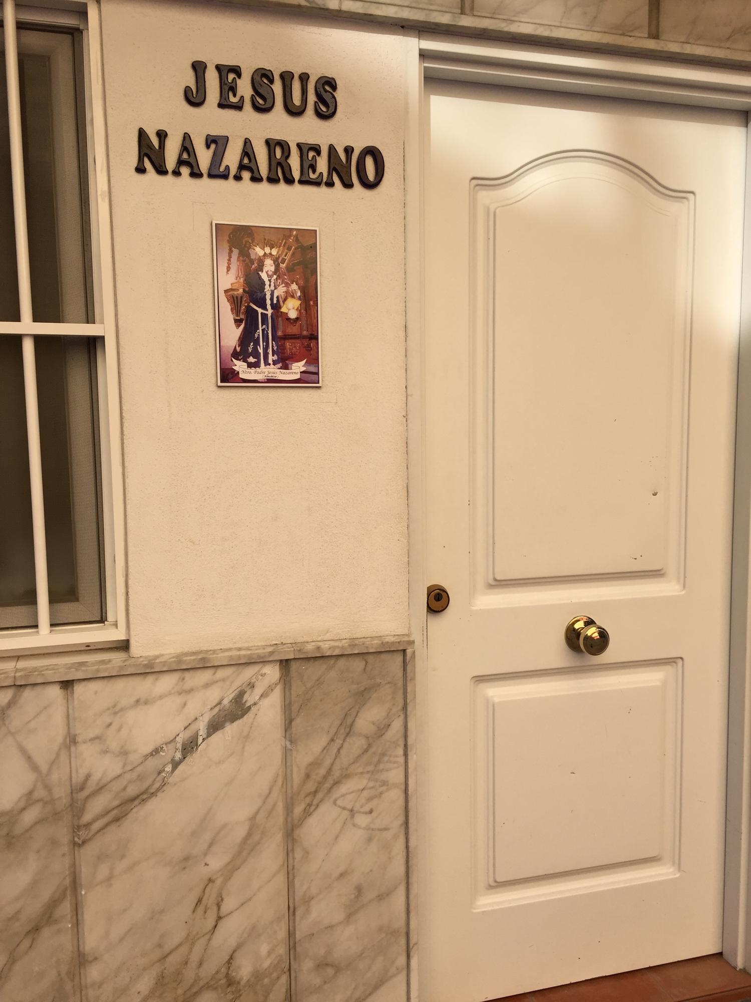 Dette var nytt for oss, at det var her i Almunecar i Spania han busette seg, Jesus frå Nazaret!