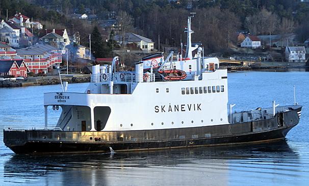 «Skånevik» skal frå tidleg i mai ha to daglege avgangar frå Gudvangen til Kaupanger, ein tur på vel to timar. (Arkivfoto)