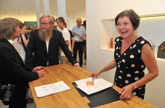 Gøril Guddal opna Guddalstunet i mai 2014. No er ho blitt påskjønna av Innovasjon Norge. (Foto: Magne Fitjar/HusnesNett).