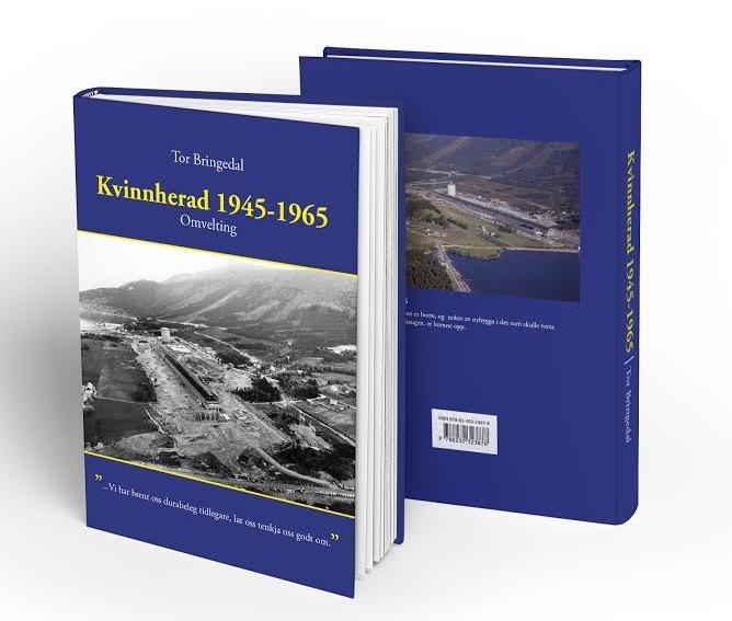 Boka til Tor Bringedal er på 430 sider.