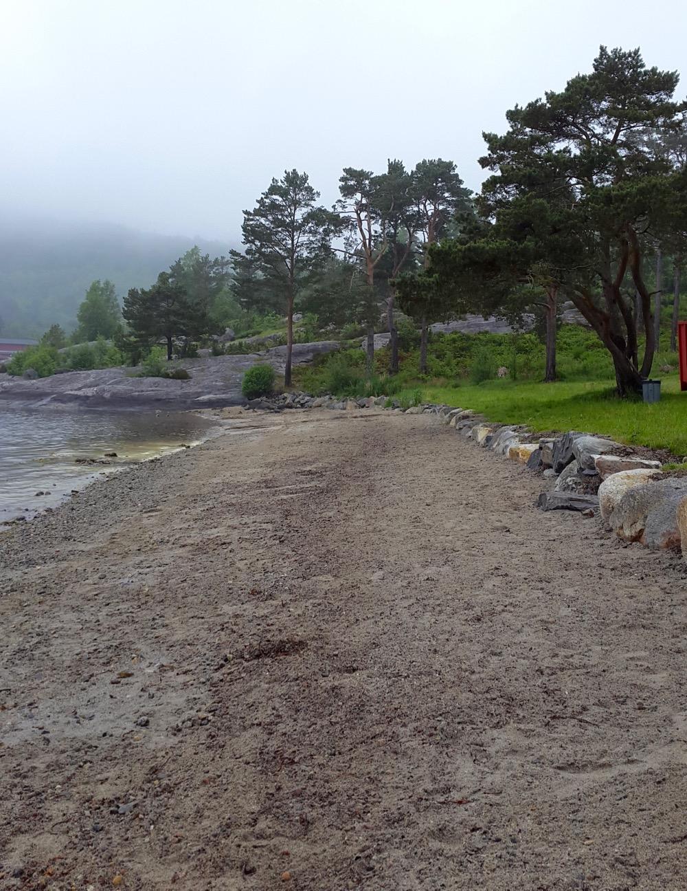 Velkommen i Borvika! (Foto: Åsfrid Barstad)
