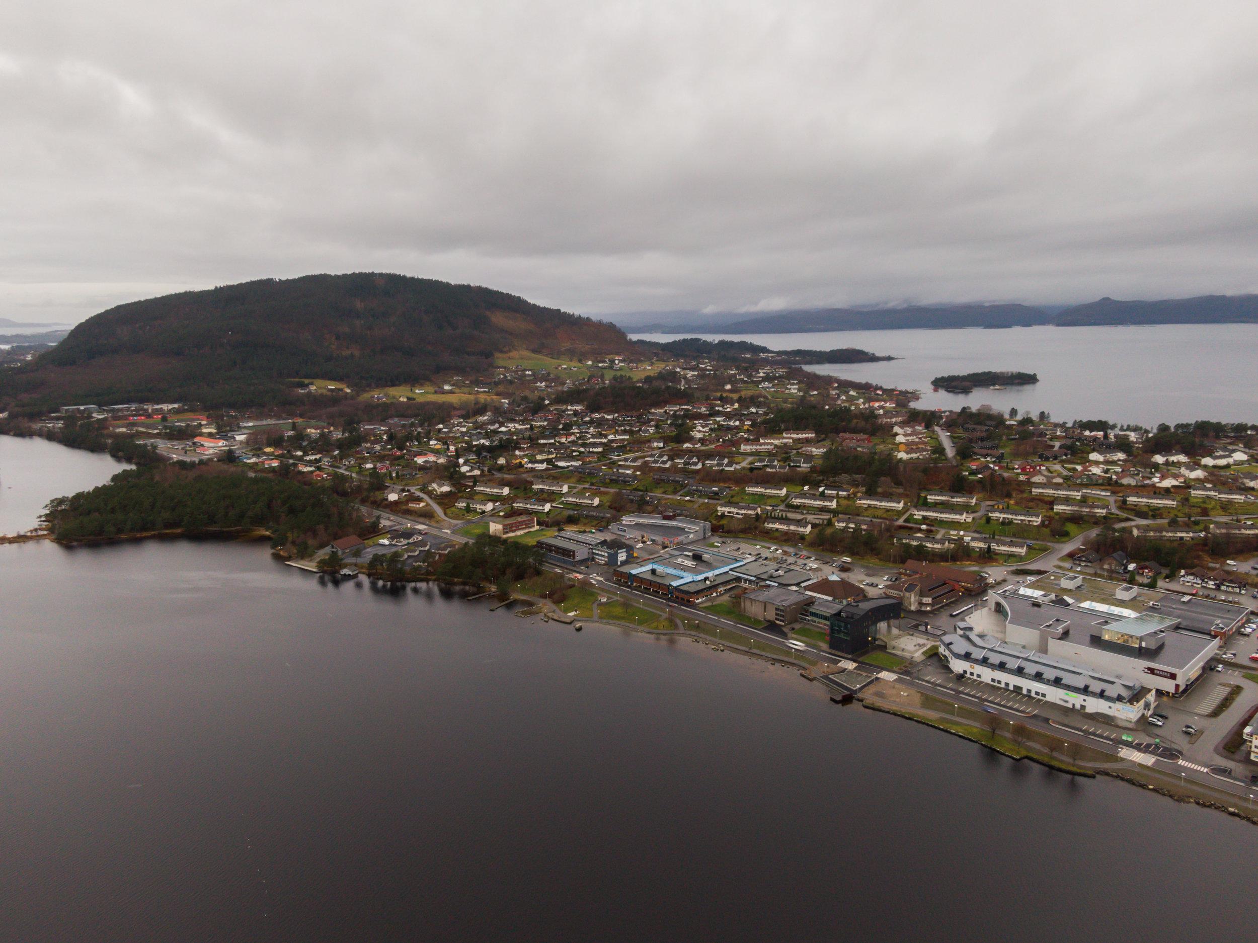Styret i Husnes Vekst er uroa over at det etter snart fem år ikkje er lagt fram ein konkret plan over korleis regionsenteret skal utviklsast. (Foto: Daniel Morso).