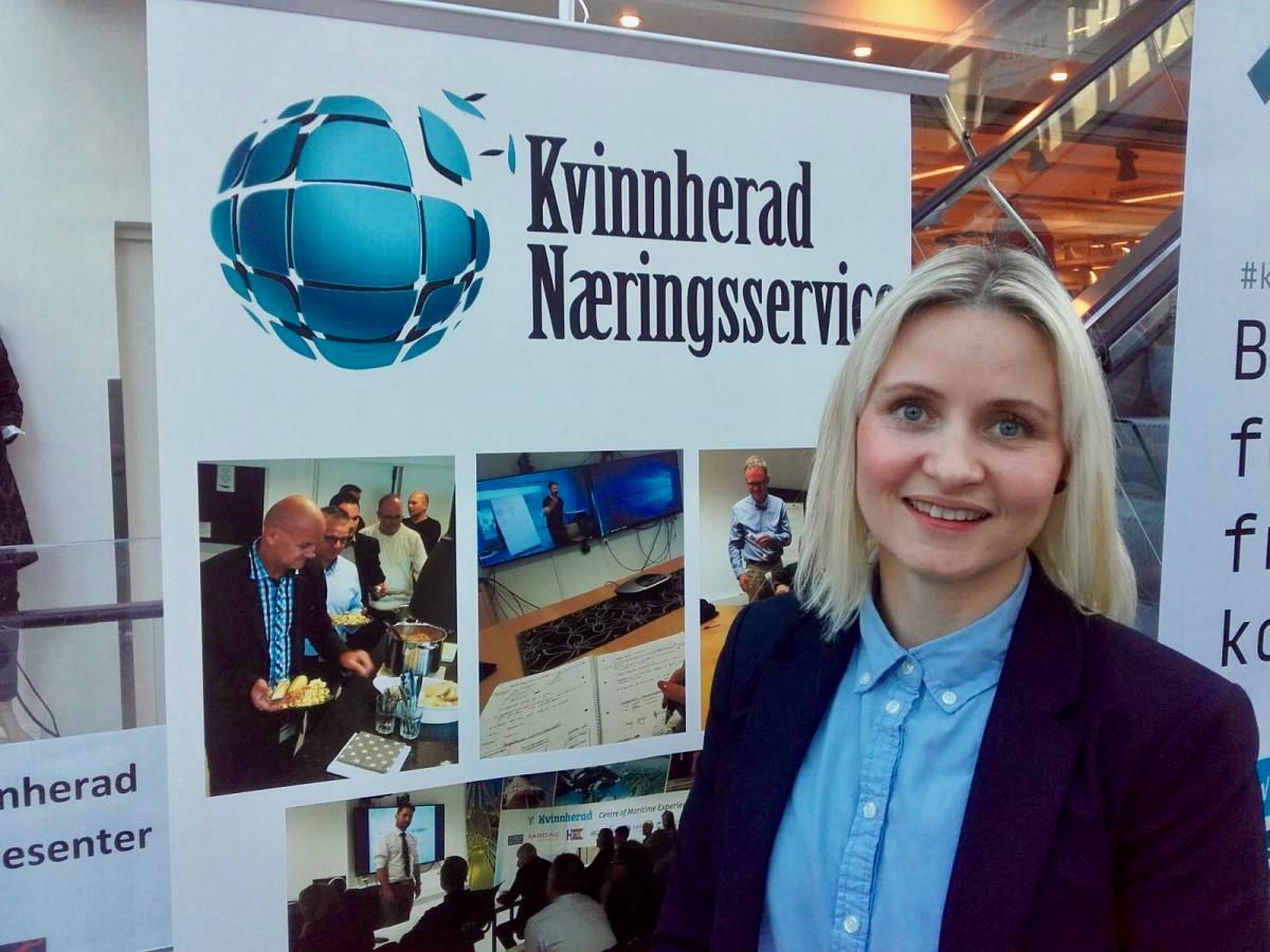 – Kom og ver med og delta i arbeidet for å gjera kommunen og bygda di meir attraktiv, oppmodar Kristine Røyrvik. (Foto: Kristian Bringedal).