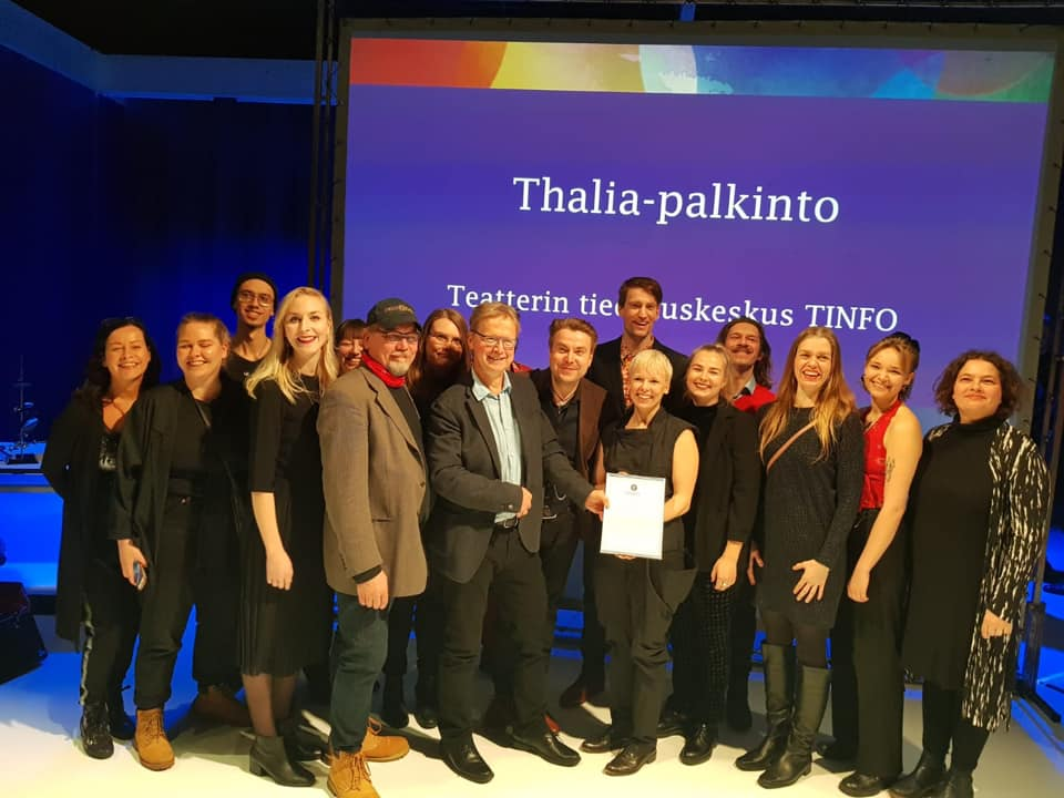 Grattis Marat/Sade! - Marat/Sade belönades på Thalia galan! Nypremiär den 22.3 på Esbostadsteater på finska.Tervetuloa!