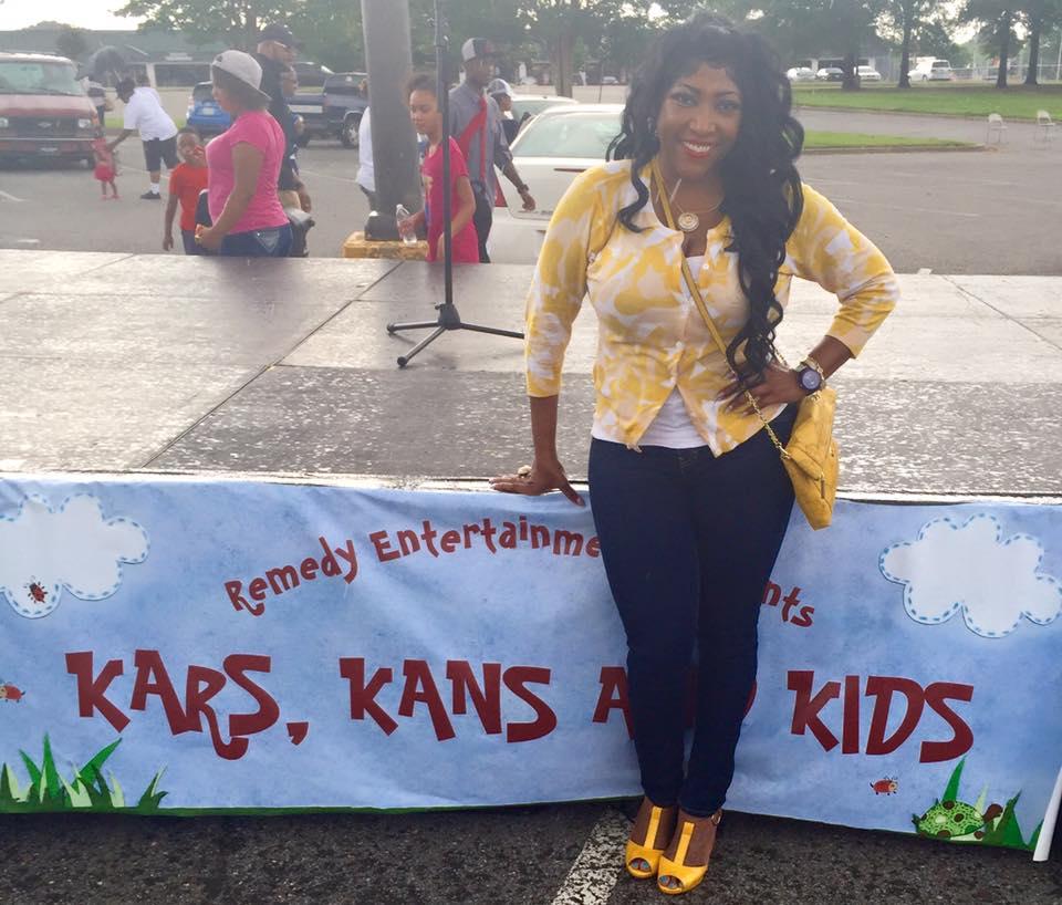 Dr. Kay at Kars, Kans and Kids Event