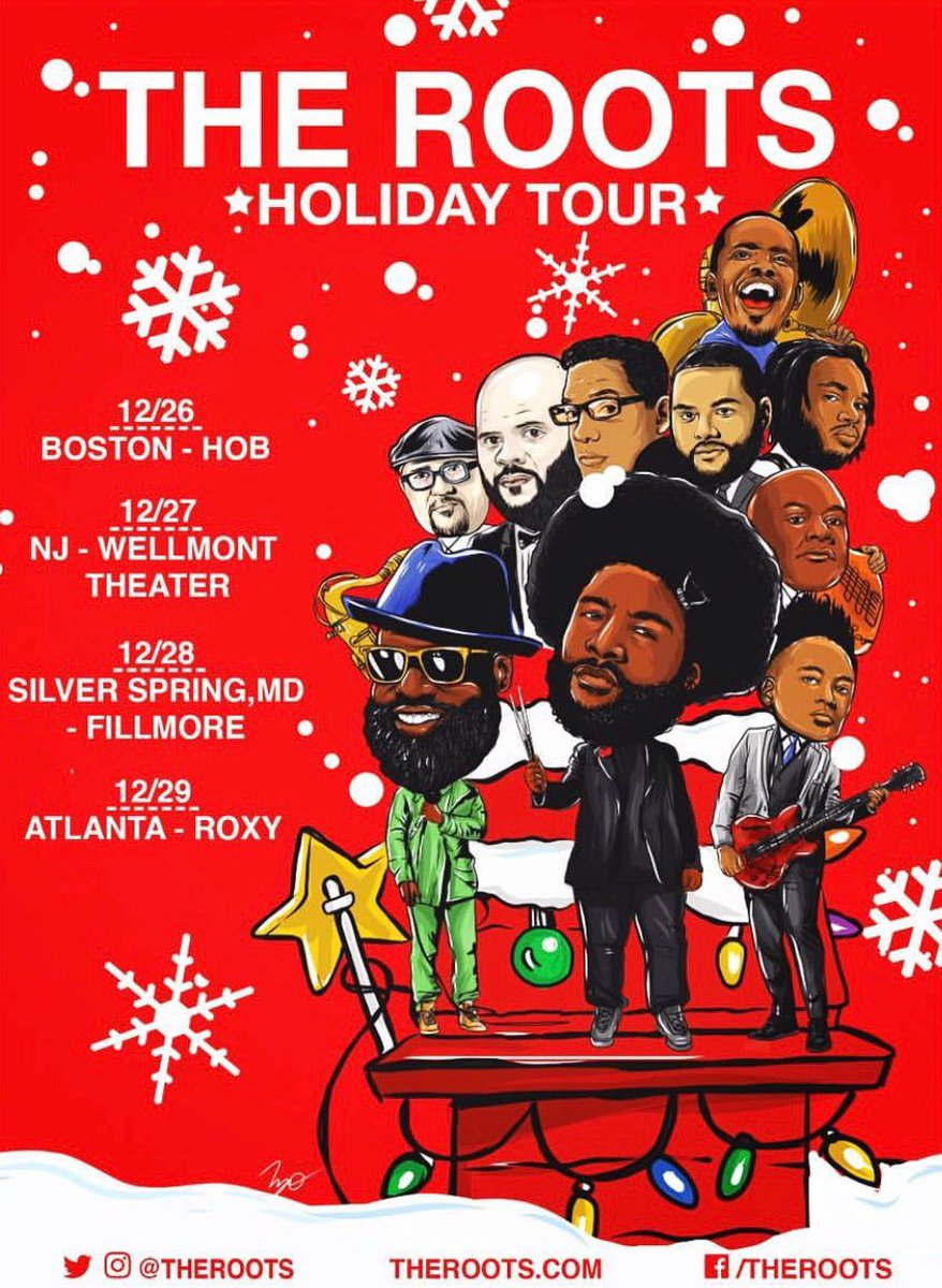 The Roots Holiday Tour 2018 - Assistant Tour Manager & Hospitality