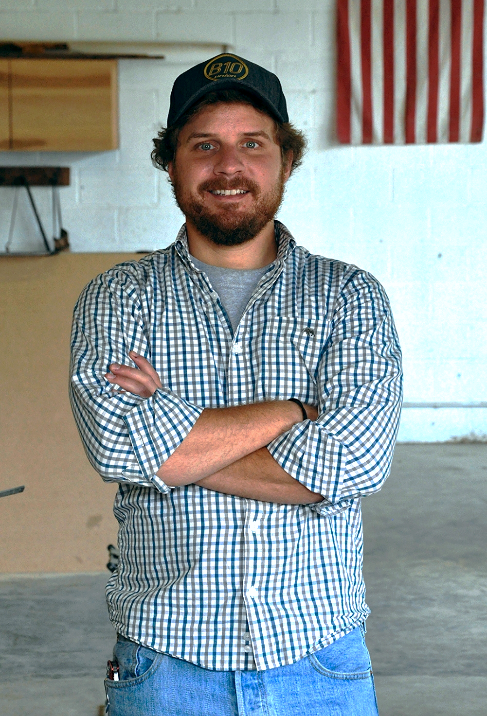 Harrison Bain is a designer, builder, and creator with a Bachelor of Science in Construction Management from Auburn University. As a lifelong woodworker, Harrison enjoys creating pieces that serve practically and inspire aesthetically.