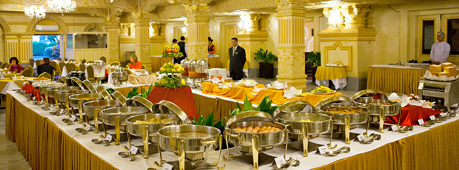 Breakfast, Winter Setting at Hotel Shanker, Kathmandu, Nepal