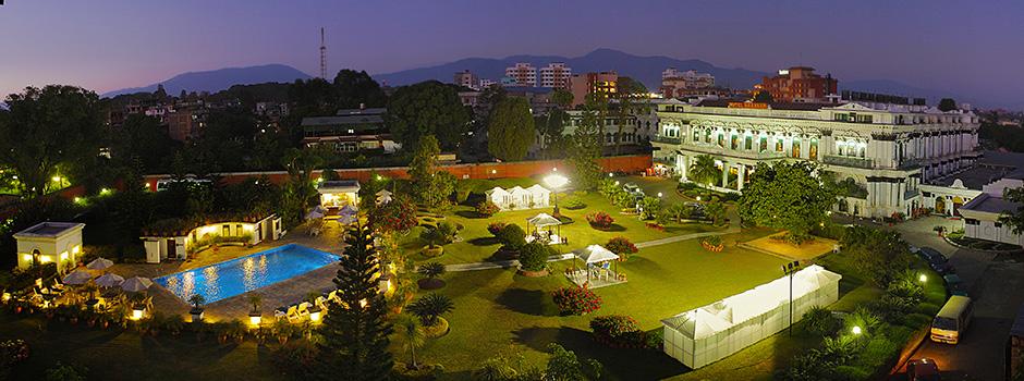 Bird's Eye View of Hotel Shanker, Kathmandu, Nepal