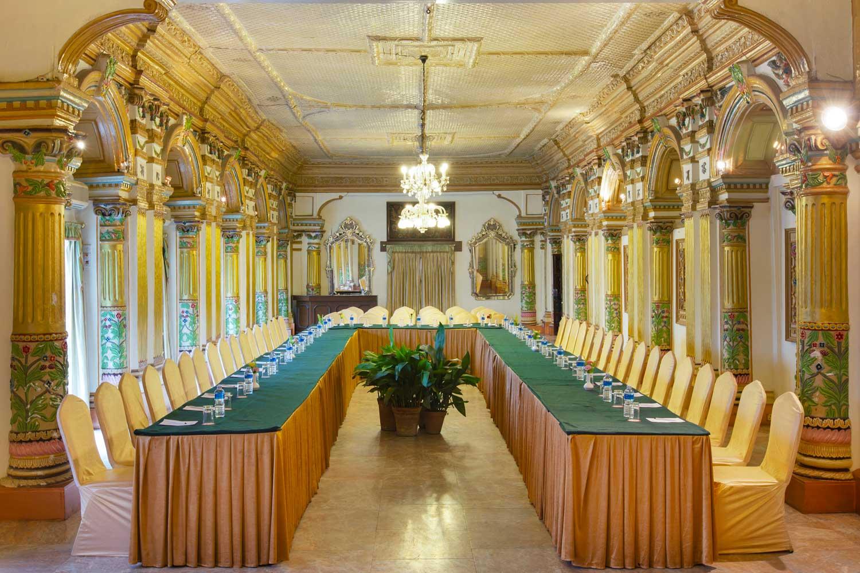 Durbar Hall at Hotel Shanker, Kathmandu, Nepal