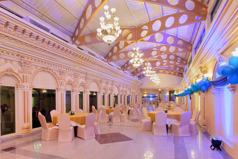 Mansarovar Hall at Hotel Shanker, Kathmandu, Nepal