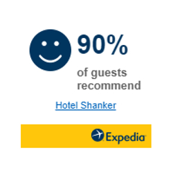 Winner of 2017 Expedia Choice Award