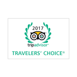 Winner of 2017 Travelers' Choice Award