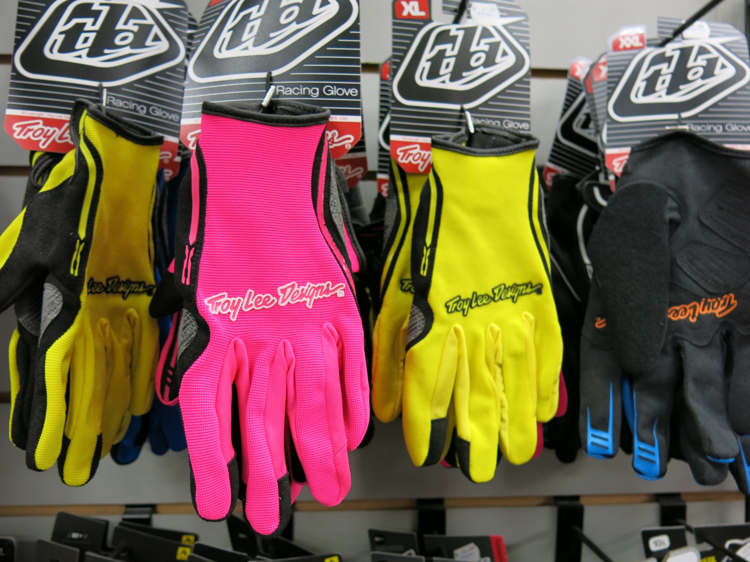 Pink TLD Gloves