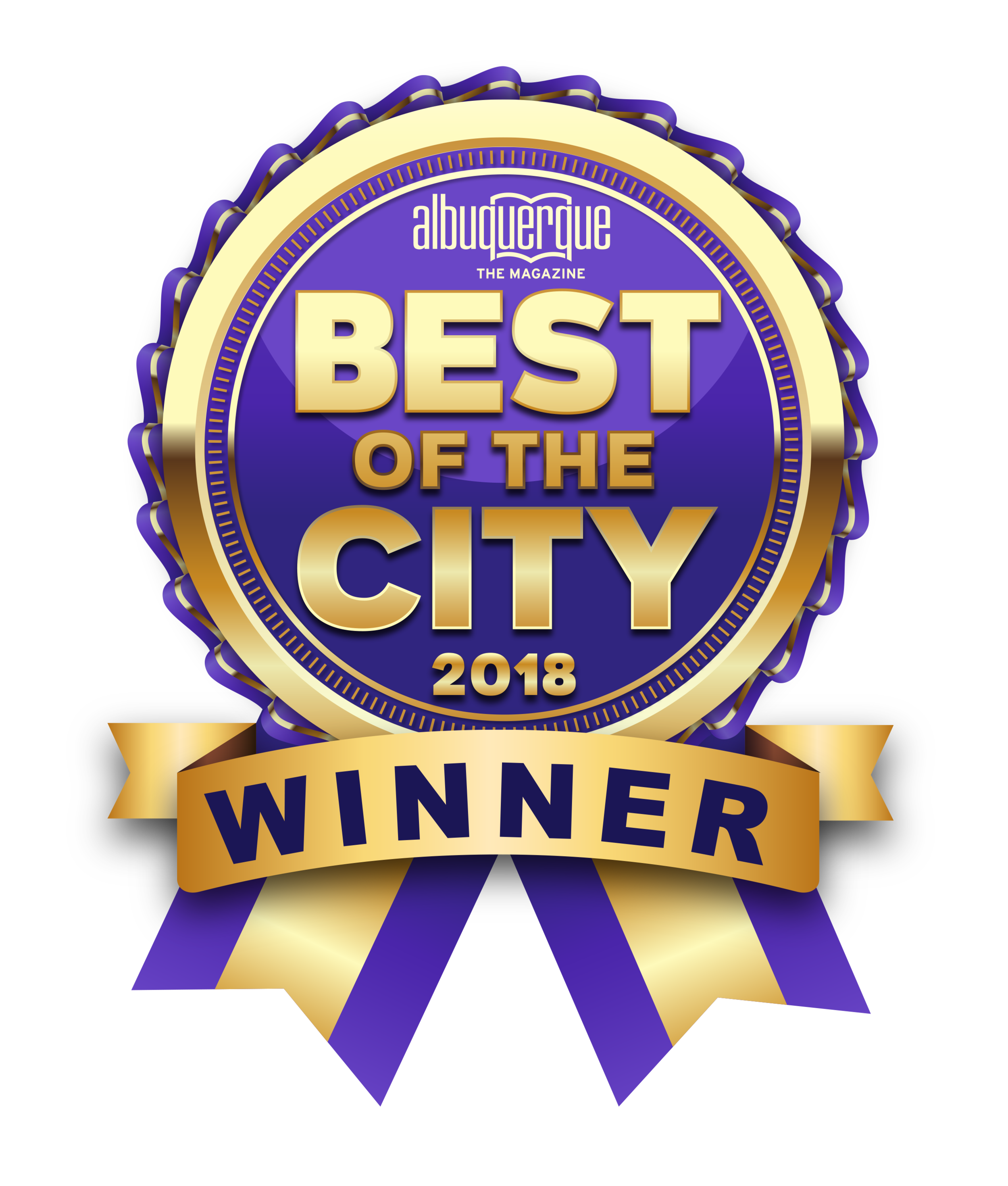 We are Best of City 2018 - another consecutive year!