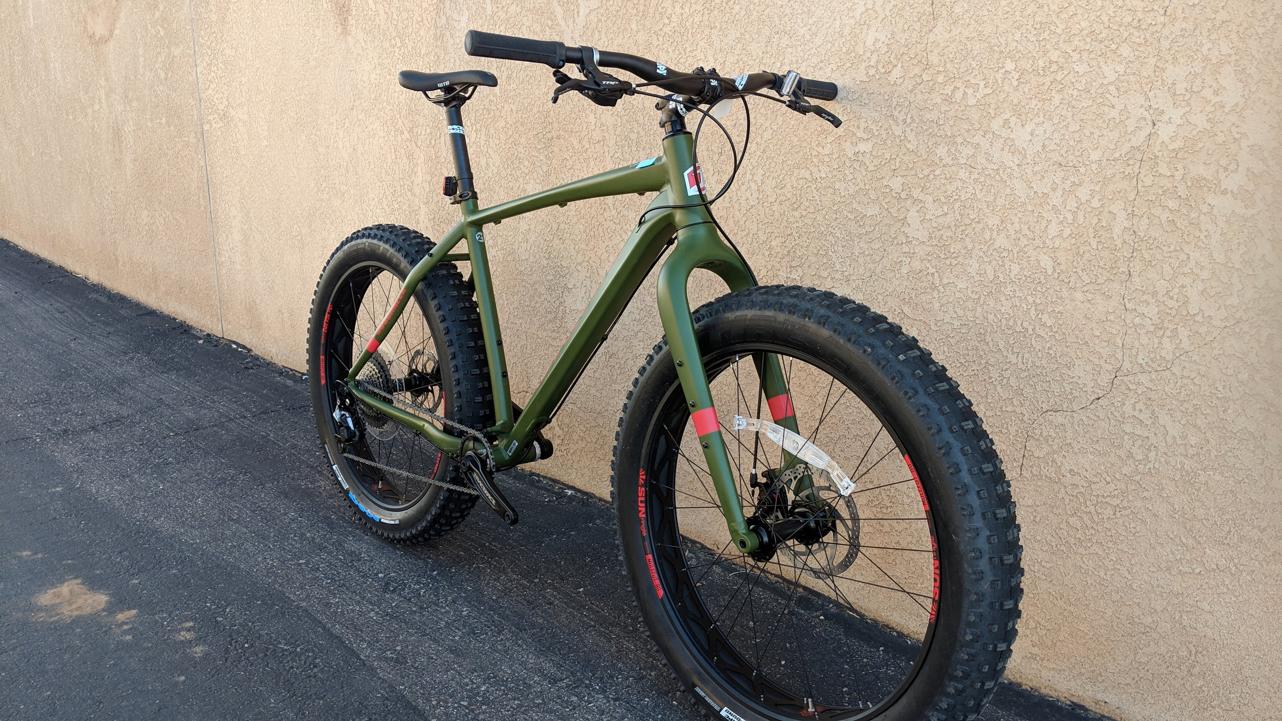 Jamis Roughneck Green -
