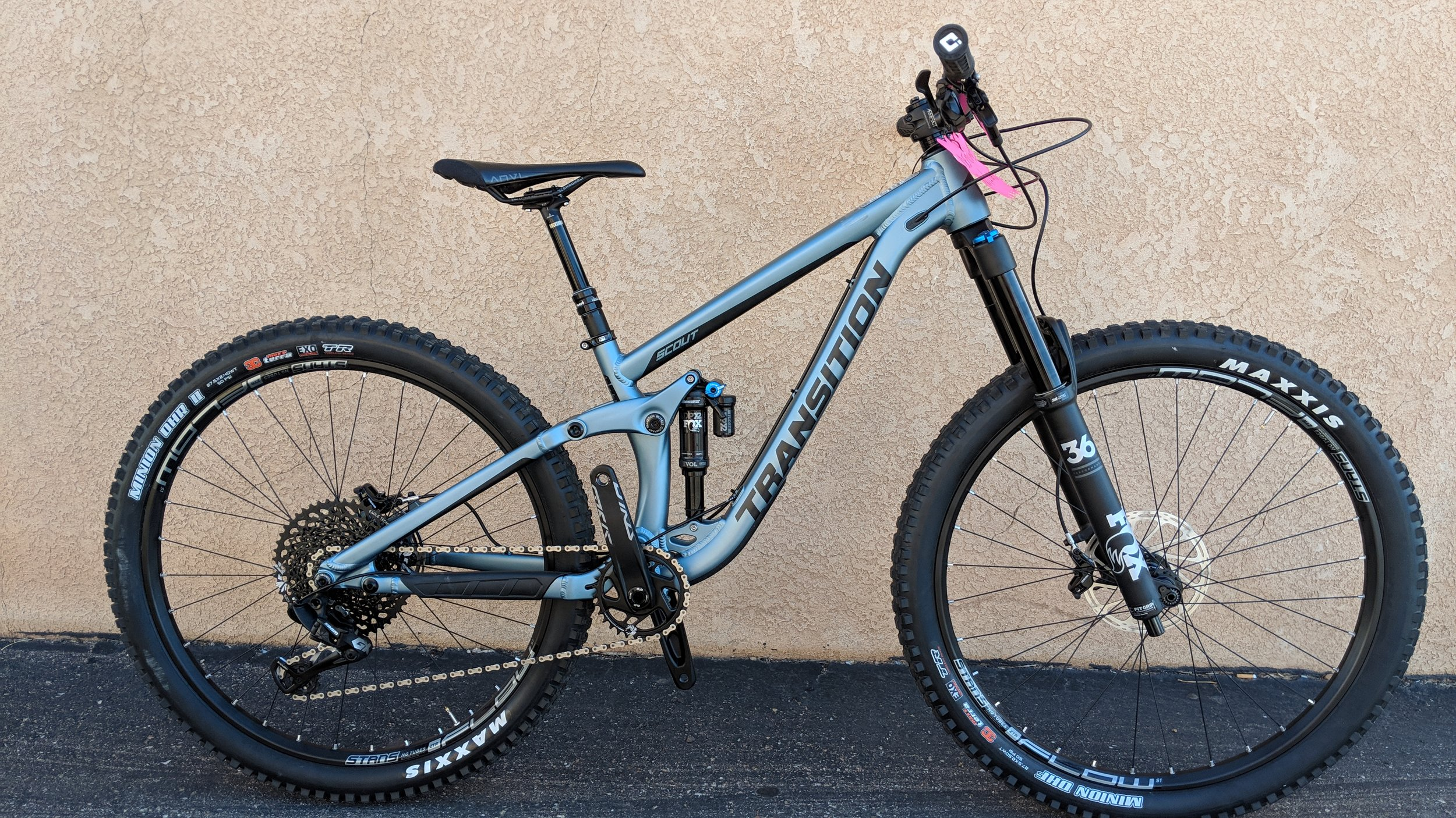 Transition Scout GX Alloy Blue -