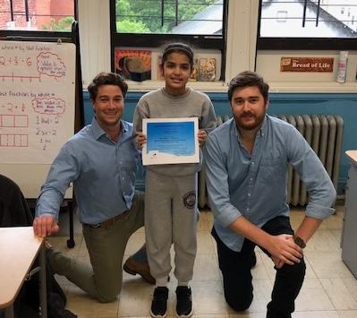 Congratulations to Melanie Nunez, our B Kind Club recipient at Sacred Heart School!