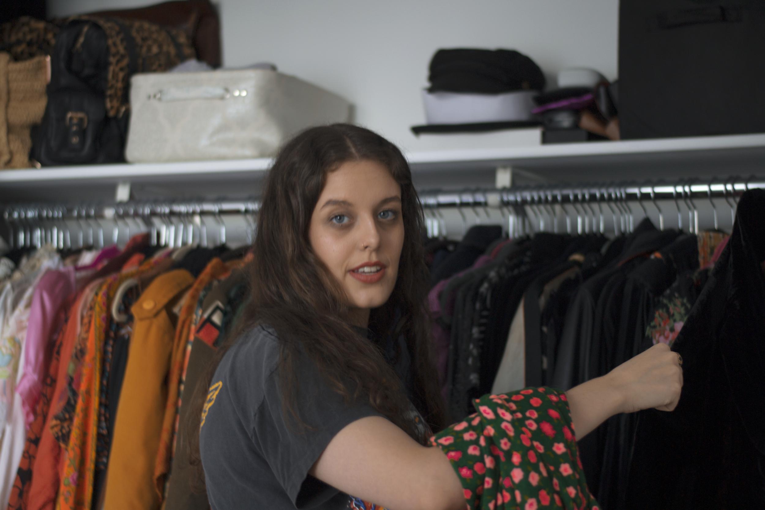 The Break Vintage Closet Tour Nicole Glickman Brooklyn