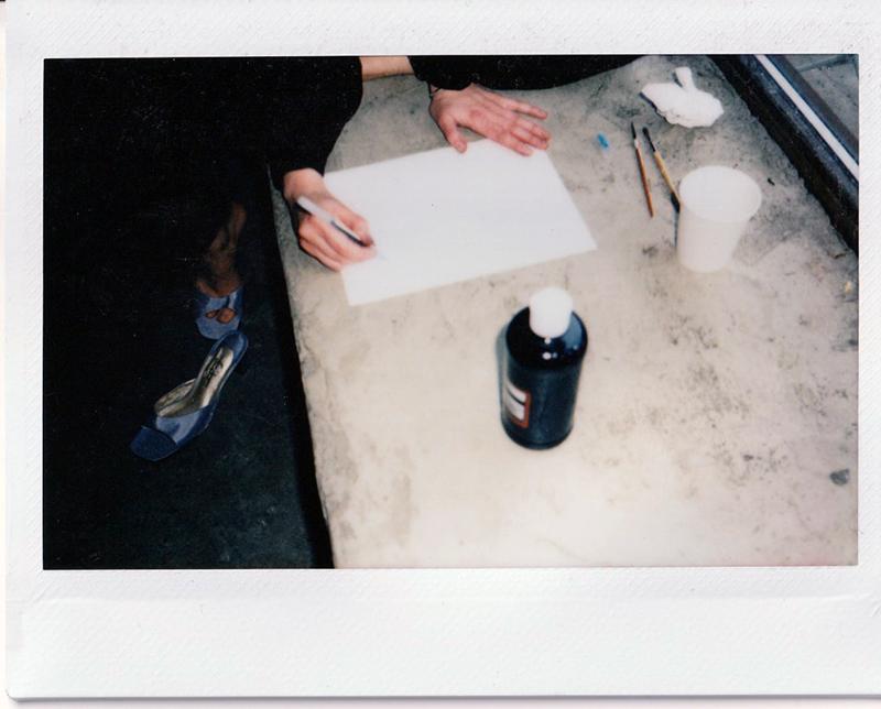 The Break Vintage Andrea Smith Illustrator Brooklyn Polaroid