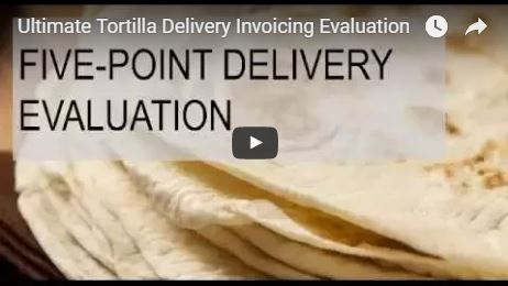 Tortilla Delivery Clean Invoicing
