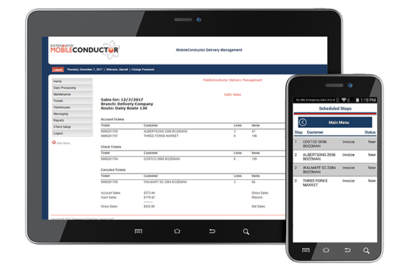 Tracking and visibility software solutions MobileConductor