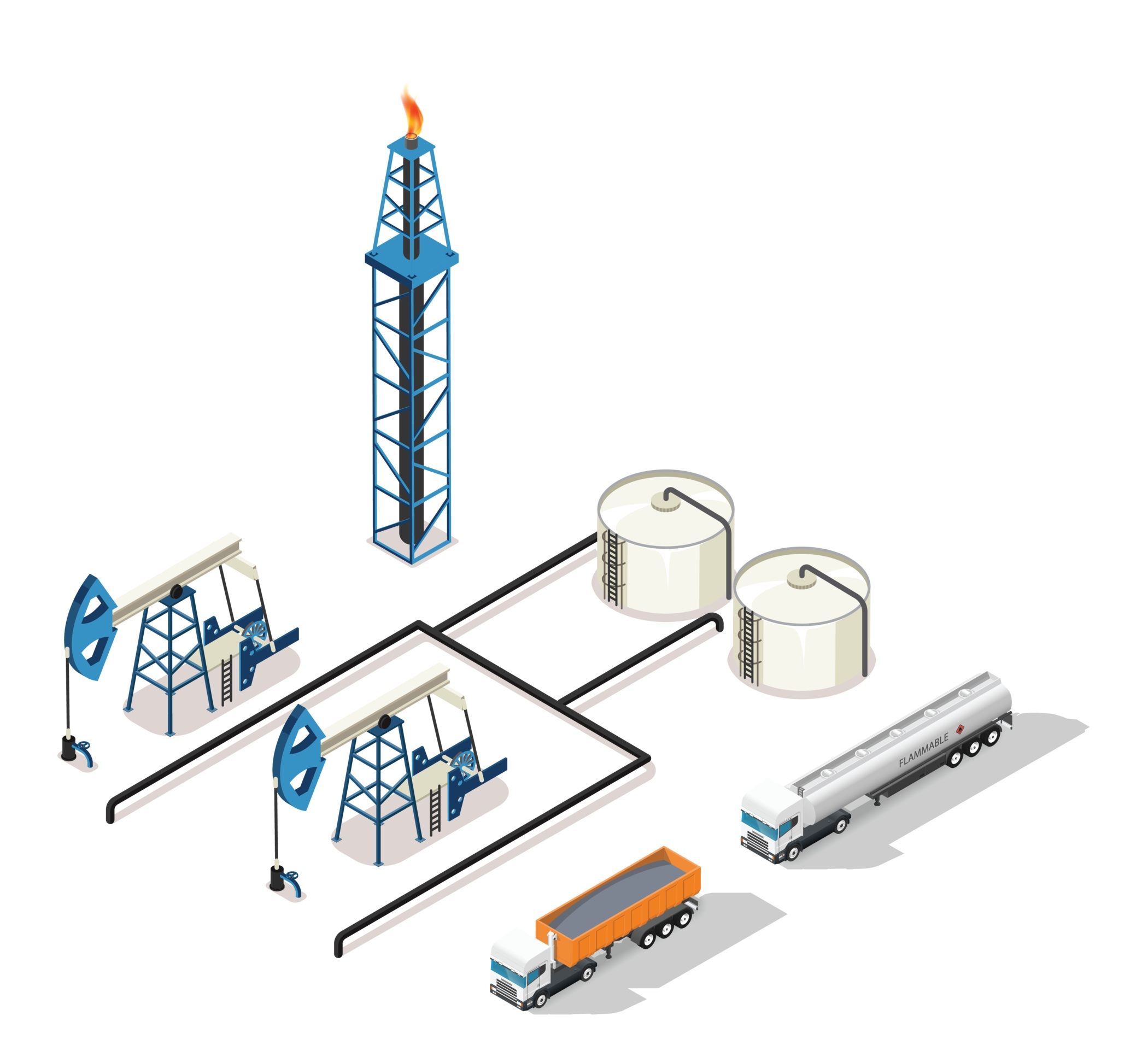 ExtenData Oil Gas & Mining Solutions with rugged computers and printers