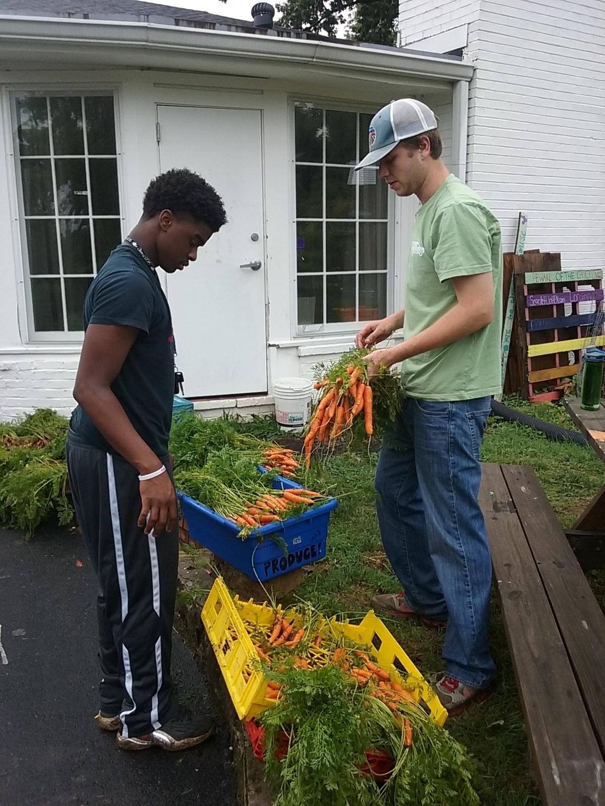 Volunteer and Intern in TNFP's Garden Program.jpg