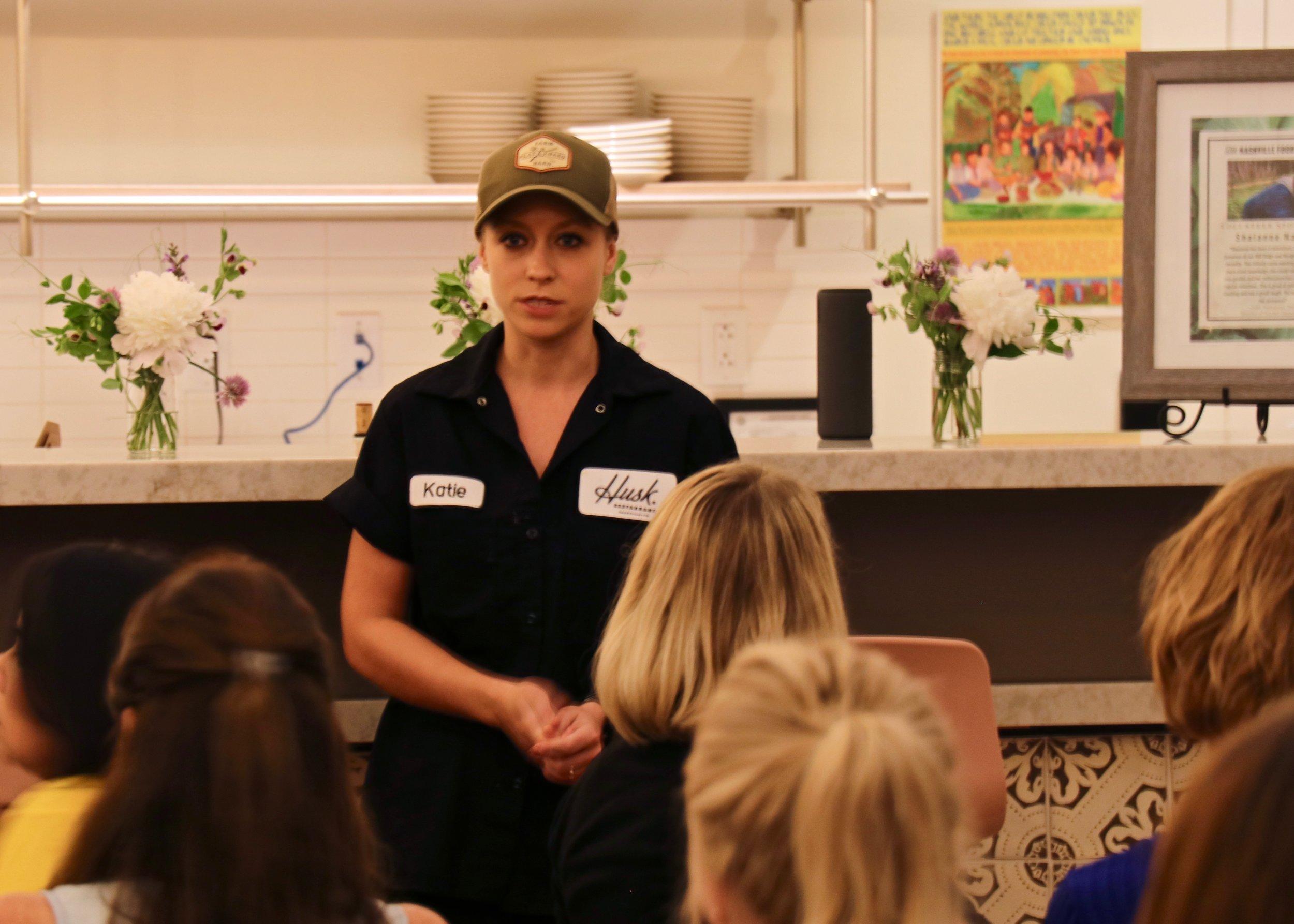 Chef Katie Coss