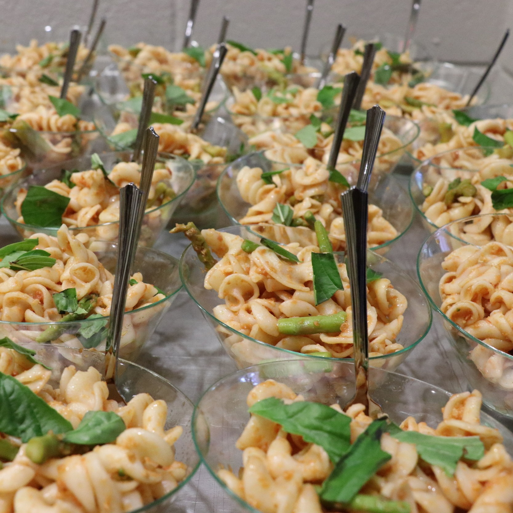 Cold Fusilli Pasta Salad, by Charlie Hilly and Sarah Hadzor - Charlie hosted a pop-up called Namaste Y'all at age 13 and continues to inspire through his dedication to his own learning and development of his own craft.
