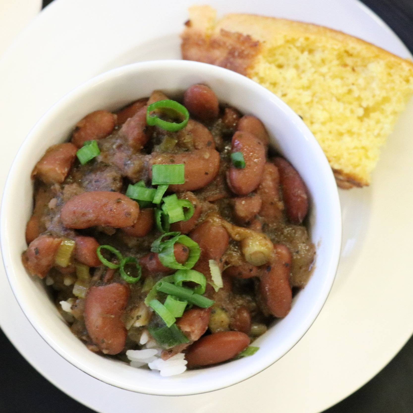 Red Beans and Rice with Cornbread, by Pableaux Johnson - New Orleans-based writer, photographer and author models hospitality and community as host of