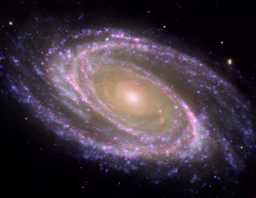 Messier 81 galaxy; NASA