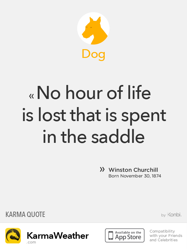 Chinese Zodiac Quotes: Dog #Churchill