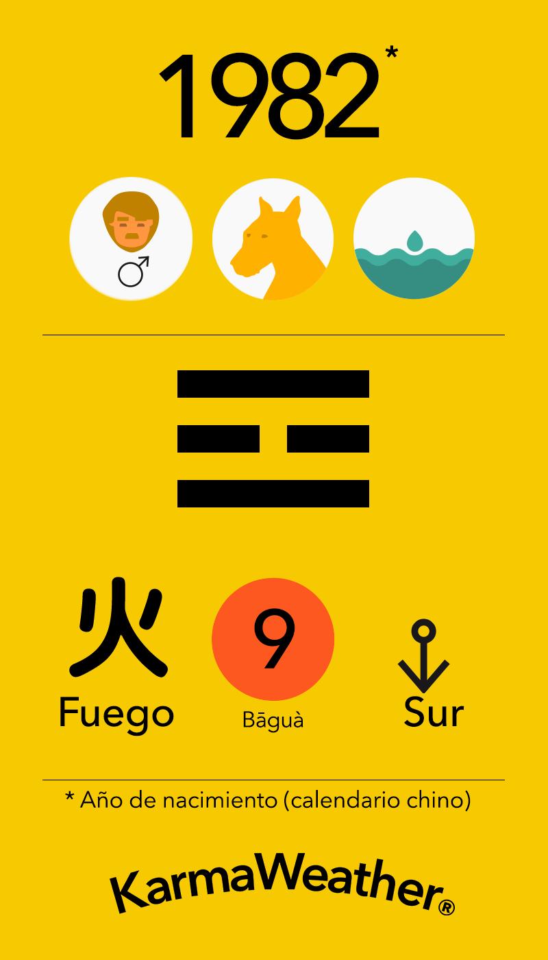 Fundamentos de Feng Shui BaGua para hombres nacidos en 1982 por KarmaWeather #Perro