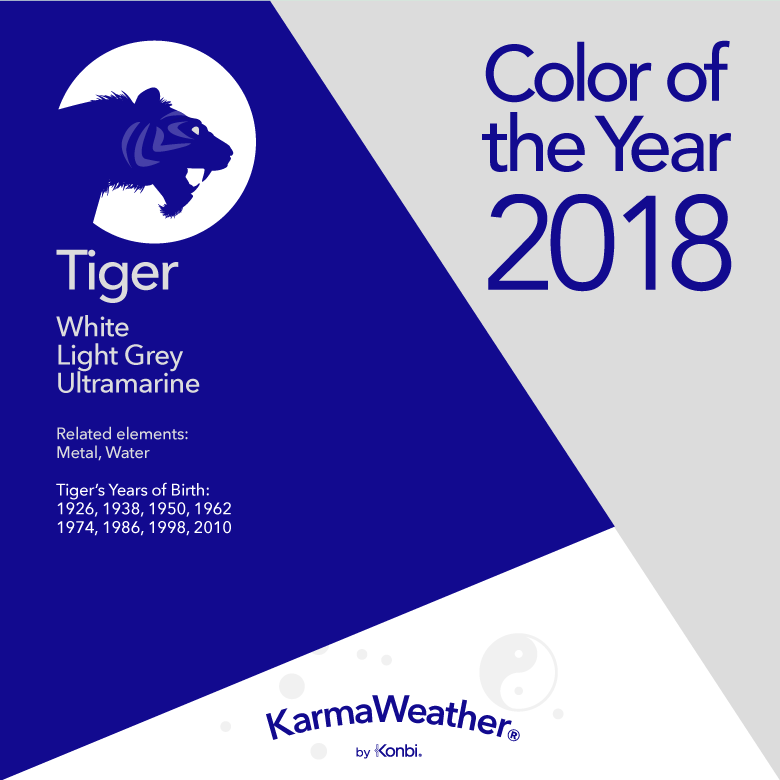 Tiger Colors 2018