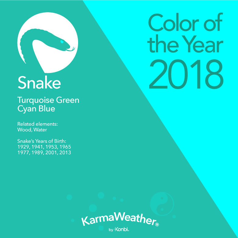 Snake Colors 2018
