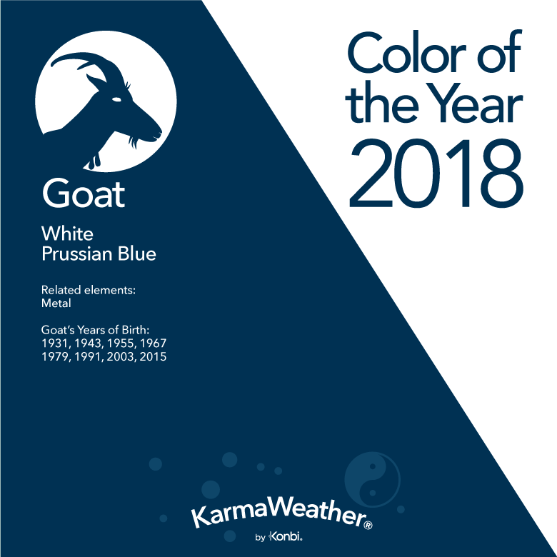 Goat Colors 2018