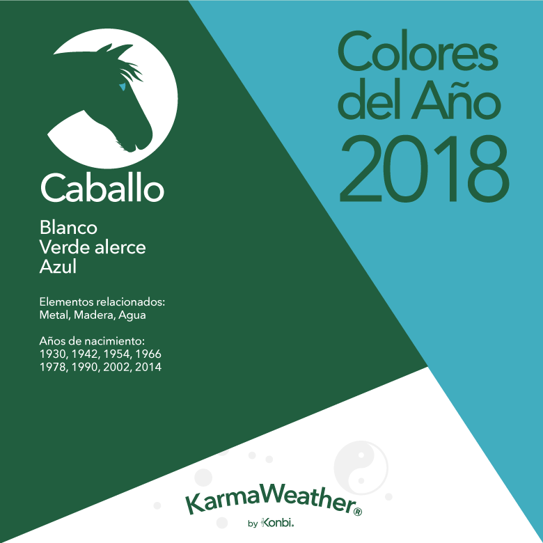 Caballo color 2018