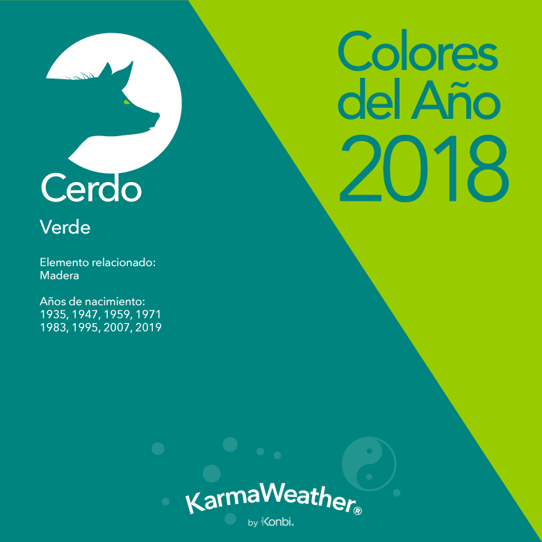 Cerdo color 2018