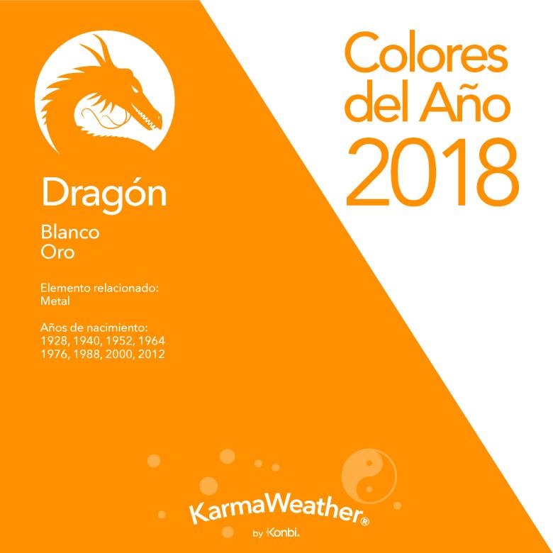 Dragón color 2018