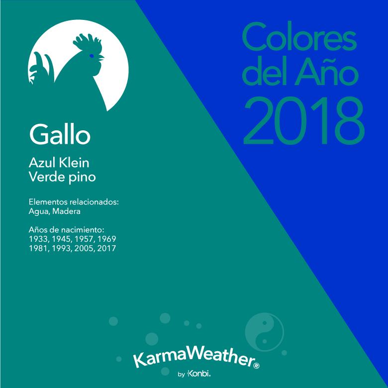 Gallo color 2018