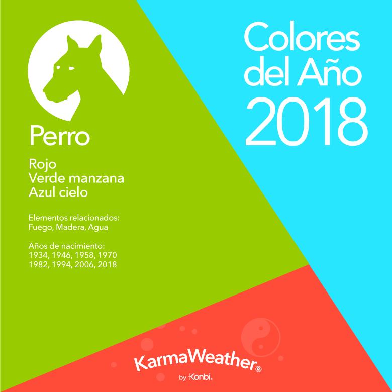 Perro color 2018