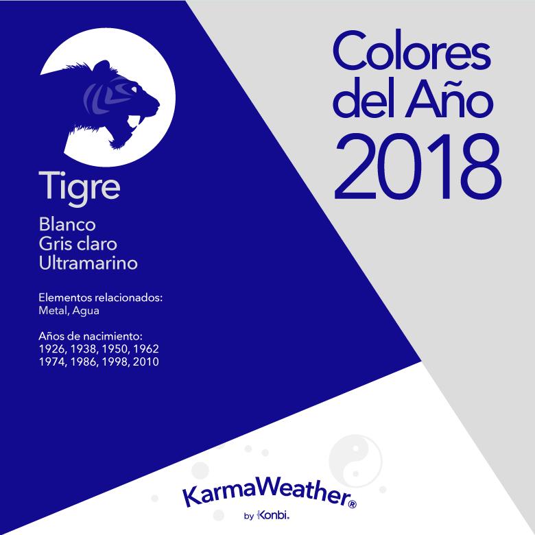 Tigre color 2018