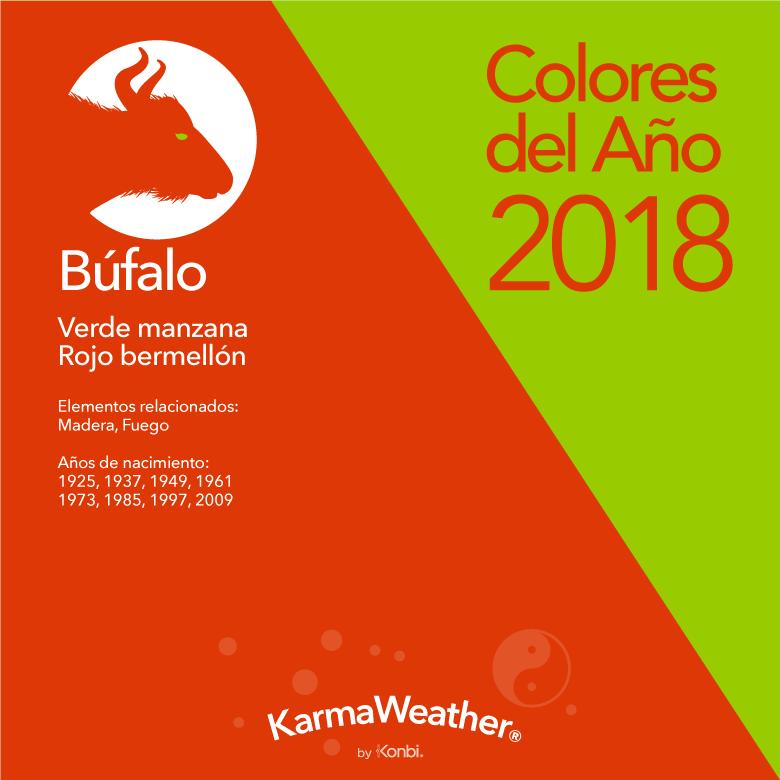 Búfalo color 2018