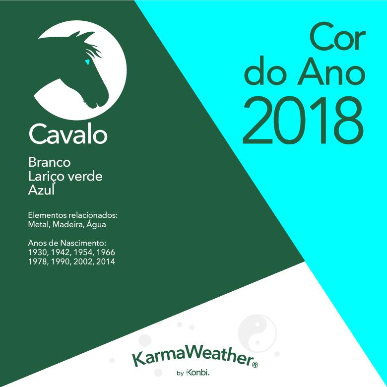 Cor 2018 Cavalo
