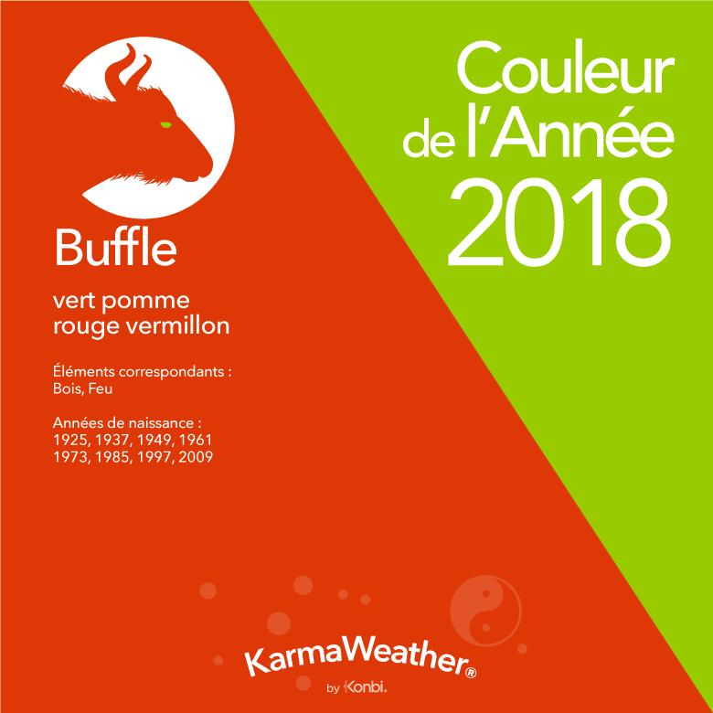 Couleur 2018 Buffle