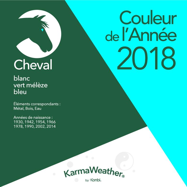 Couleur 2018 Cheval